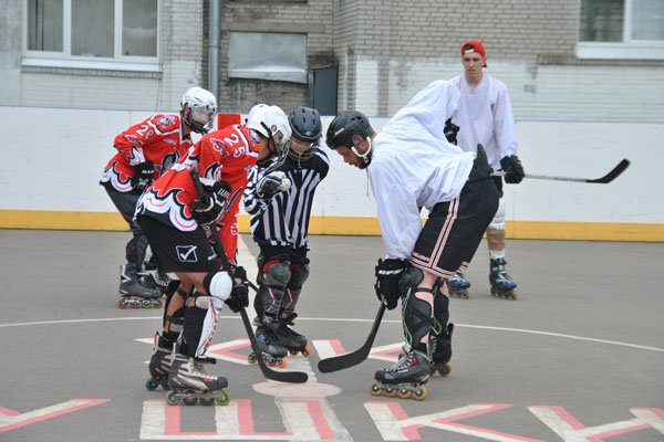 Хоккей на роликах6