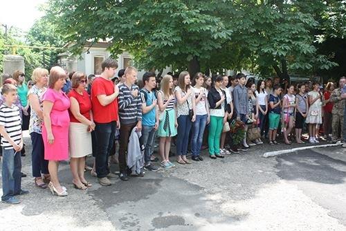 В Бериславе открыли мемориальную доску защитнику Украины, фото-2