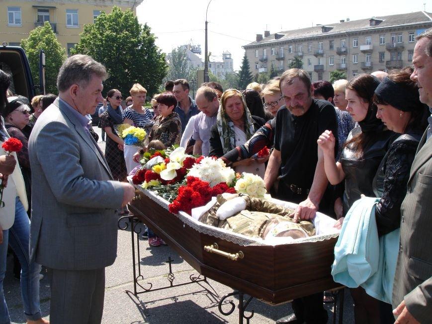 Біла Церква прощалася з героєм АТО (фото), фото-7