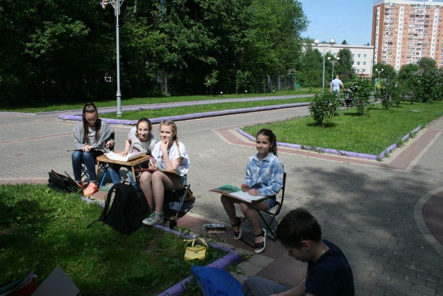В Троицке начались уроки уличной живописи, фото-8