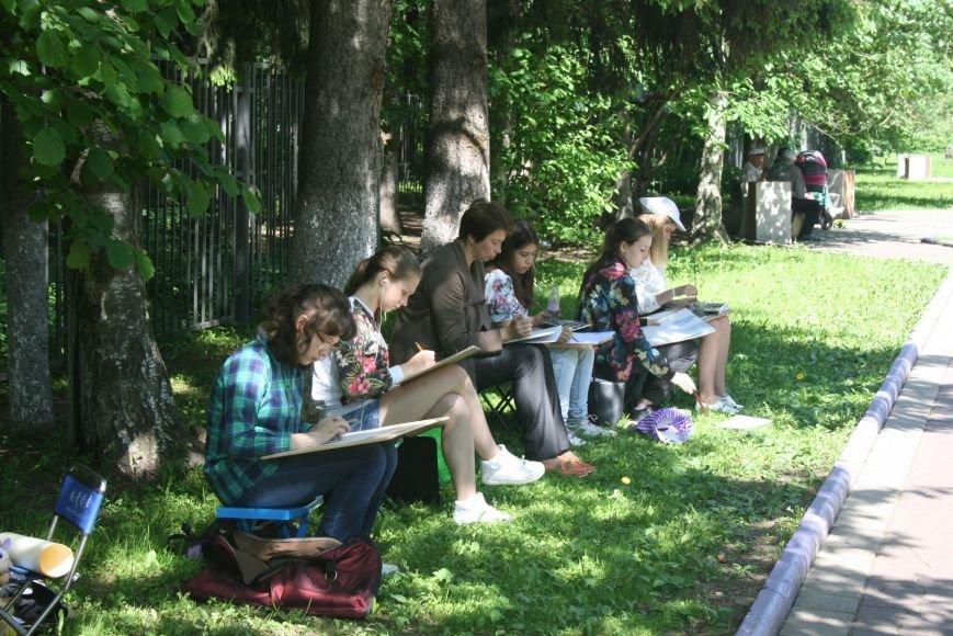 В Троицке начались уроки уличной живописи, фото-2