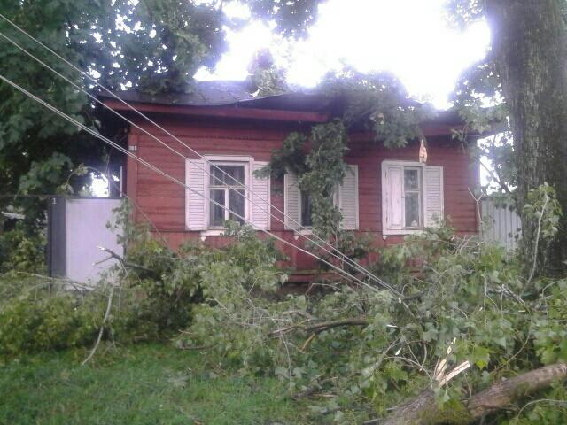 Из-за вчерашней непогоды 15 населенных пунктов Черниговщины остались без электричества и 30 – без связи, фото-1
