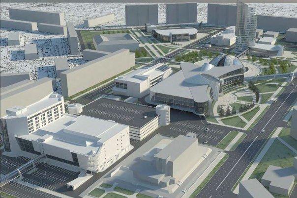 """Город """"N"""" или как мог выглядеть Нижневартовск в будущем, фото-3"""