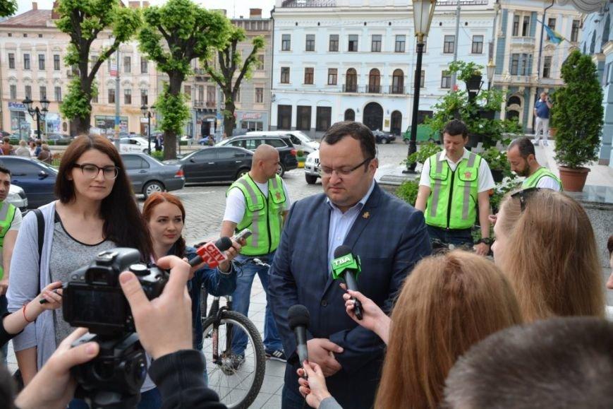 Чернівецька інспекція з благоустрою пересіла на велосипеди, фото-3