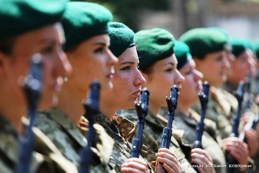 52 женщины приняли присягу пограничника Украины (фото), фото-1