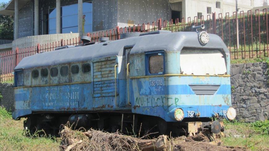 Новий тепловоз дитячої залізниці – вже на березі Ужа: фото, фото-4