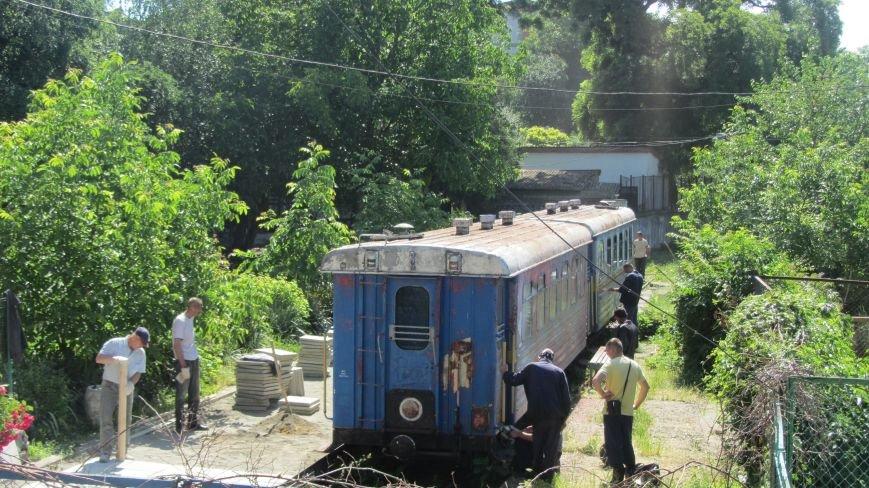 Новий тепловоз дитячої залізниці – вже на березі Ужа: фото, фото-8