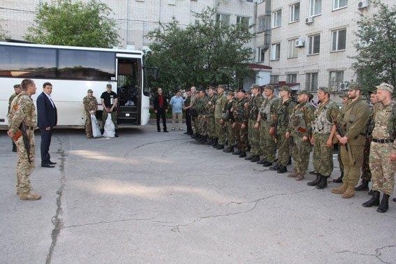 Рота спецназначения «Чернигов» вернулась домой из Мариуполя, фото-1