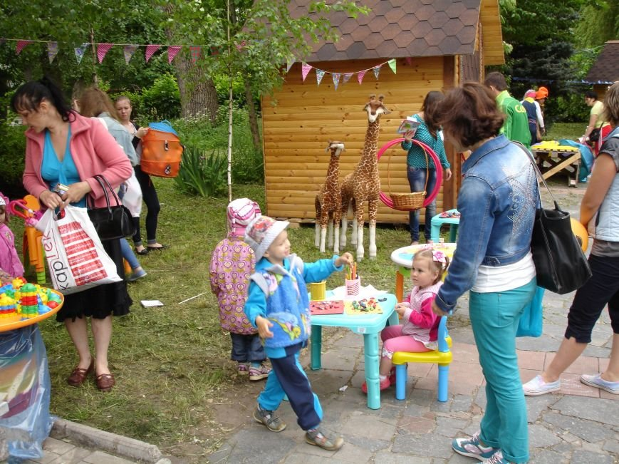 Фото: дитяче свято у парку Шевченка, фото-13