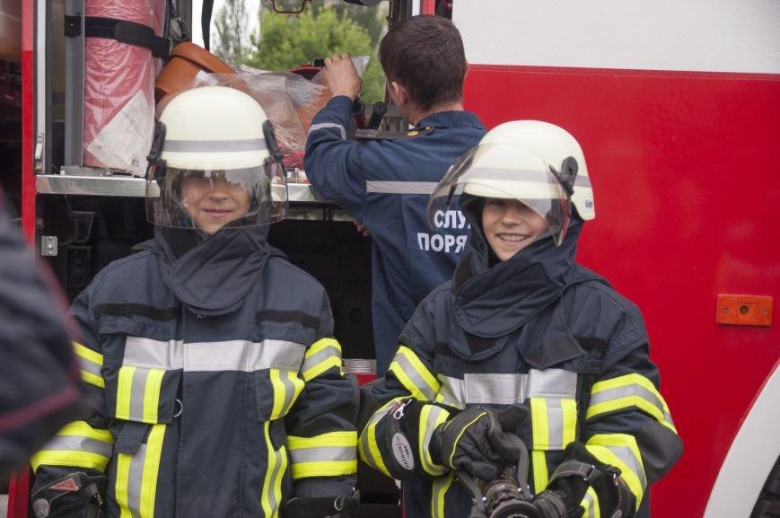 Краматорские спасатели пообщались с детьми, фото-3