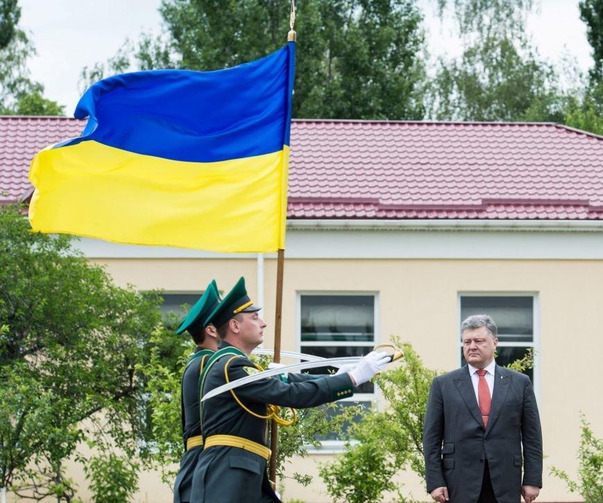 Пётр Порошенко поздравил пограничников с профессиональным праздником, фото-1