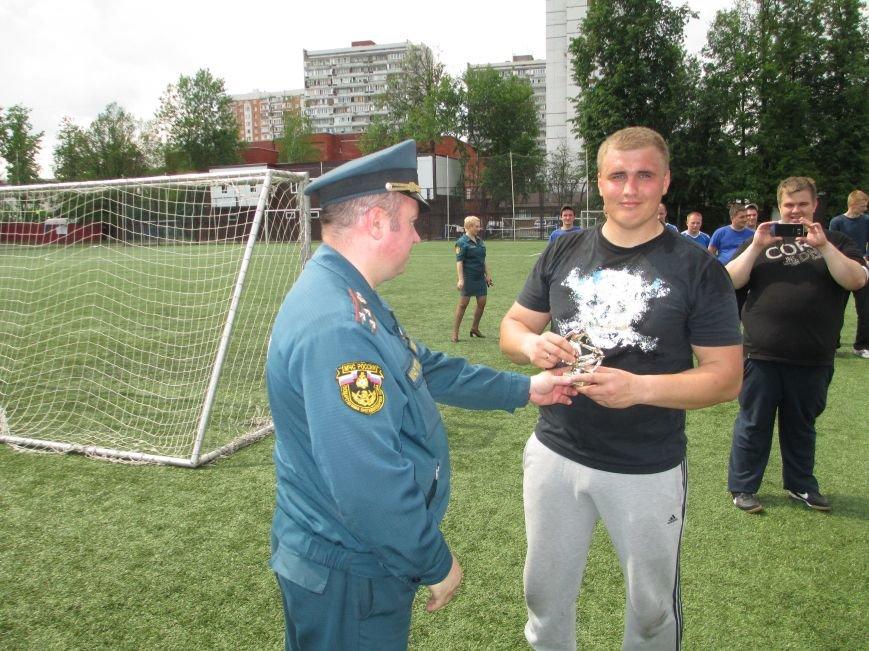 Спасатели провели футбольный турнир на Троицком стадионе, фото-4