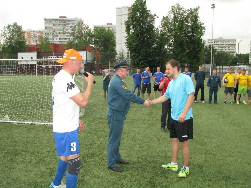 Спасатели провели футбольный турнир на Троицком стадионе, фото-3