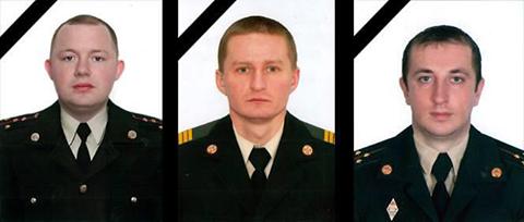 Закарпатські рятувальники співчувають колегам, які загинули під час надзвичайної пожежі у Львові, фото-1
