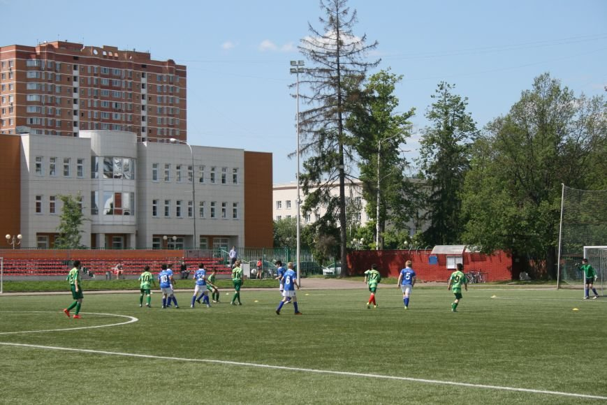 Первенство Москвы по футболу (высшая лига) провели на Троицком стадионе, фото-2