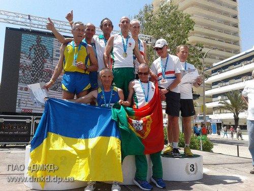 Днепродзержинский легкоатлет-ветеран Василий Карпович завоевал 3 медали на чемпионате Европы, фото-3