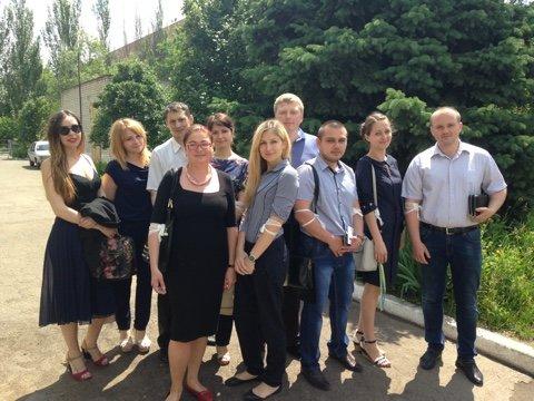 Прокуроры Донецкой области сдали кровь для больных детей, фото-1