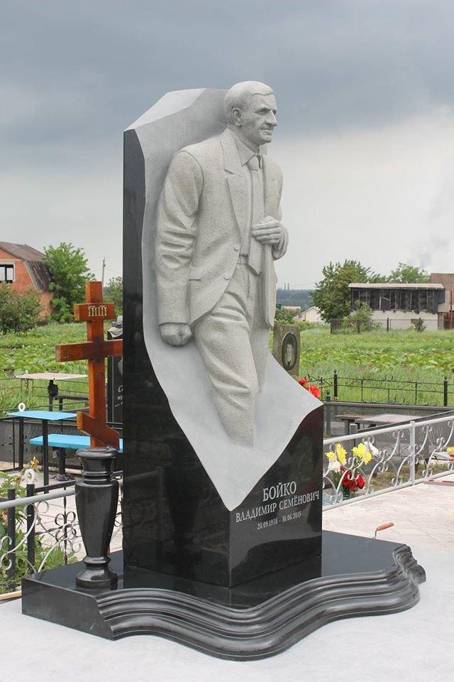 На могиле Героя Украины Владимира Бойко установили памятник (ФОТО), фото-2