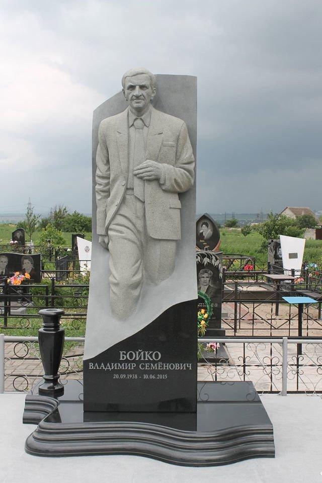 На могиле Героя Украины Владимира Бойко установили памятник (ФОТО), фото-1