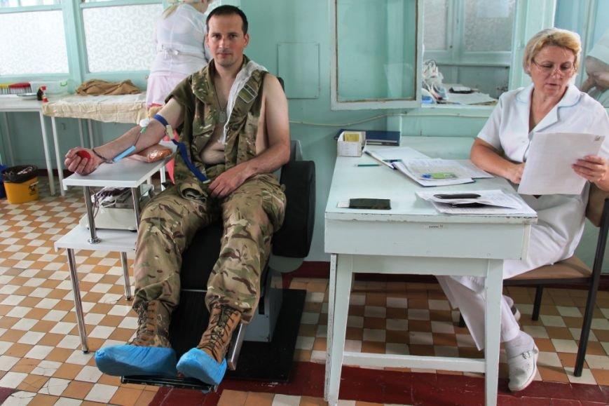 Пограничники Херсонского отряда сдали кровь детям (фото), фото-1
