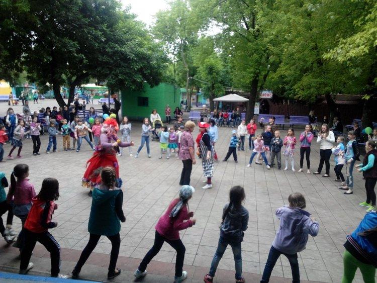 В Краматорском парке Юбилейный прошел праздник для детей, фото-1