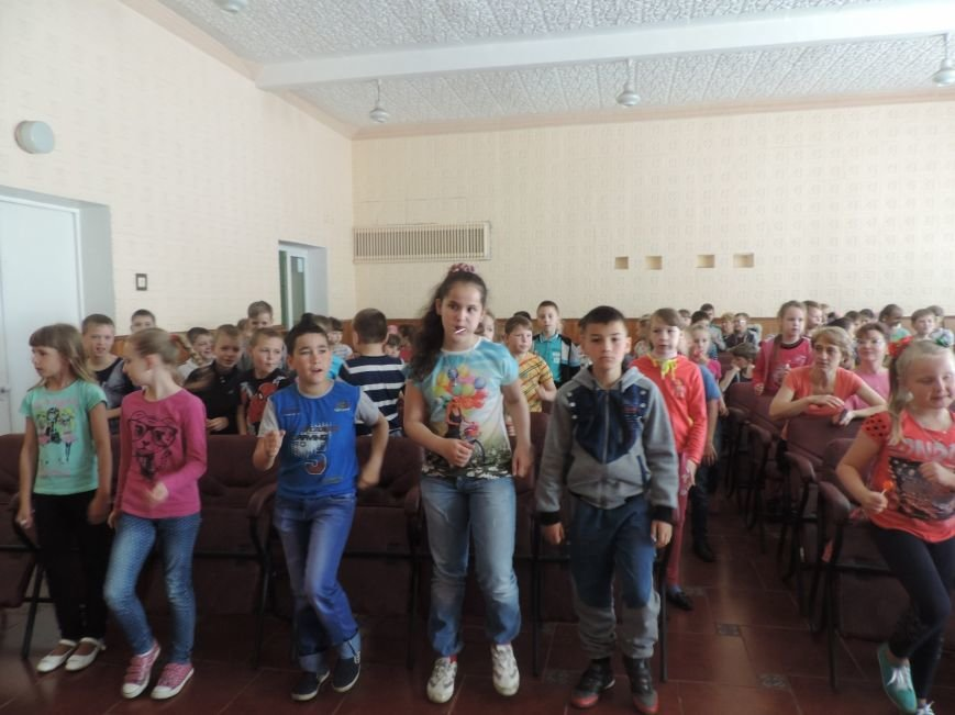 В пришкольном лагере УВК №4 состоялось открытие первой смены, фото-2