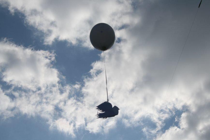 В Троицке прошёл флешмоб с запуском воздушных шаров, фото-8