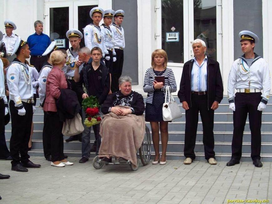 В Херсоне открыли памятные доски бойцам, погибшим в зоне АТО, - Олегу Гребинскому и Кириллу Григорюку (фото), фото-3