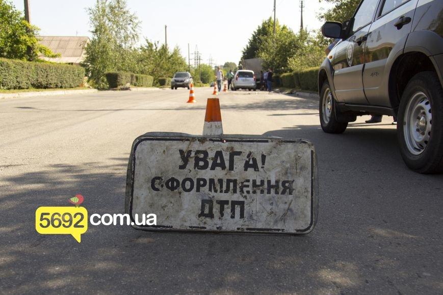 В Каменском в ДТП на Грушевского пострадала девушка, фото-1