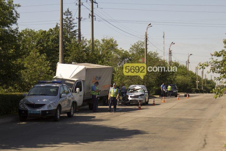 В Каменском в ДТП на Грушевского пострадала девушка, фото-6