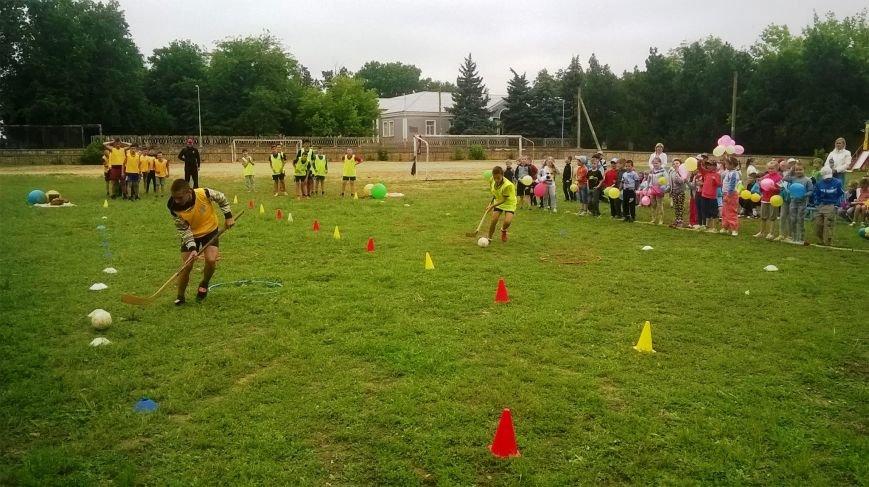 В Чернобаевке, детей, победивших в спортивной эстафете, наградили грамотами и сладостями (фото), фото-1