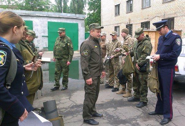 У Авдеевского отделения полиции проверили боеготовность личного состава (ФОТО), фото-3