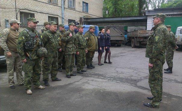 У Авдеевского отделения полиции проверили боеготовность личного состава (ФОТО), фото-1