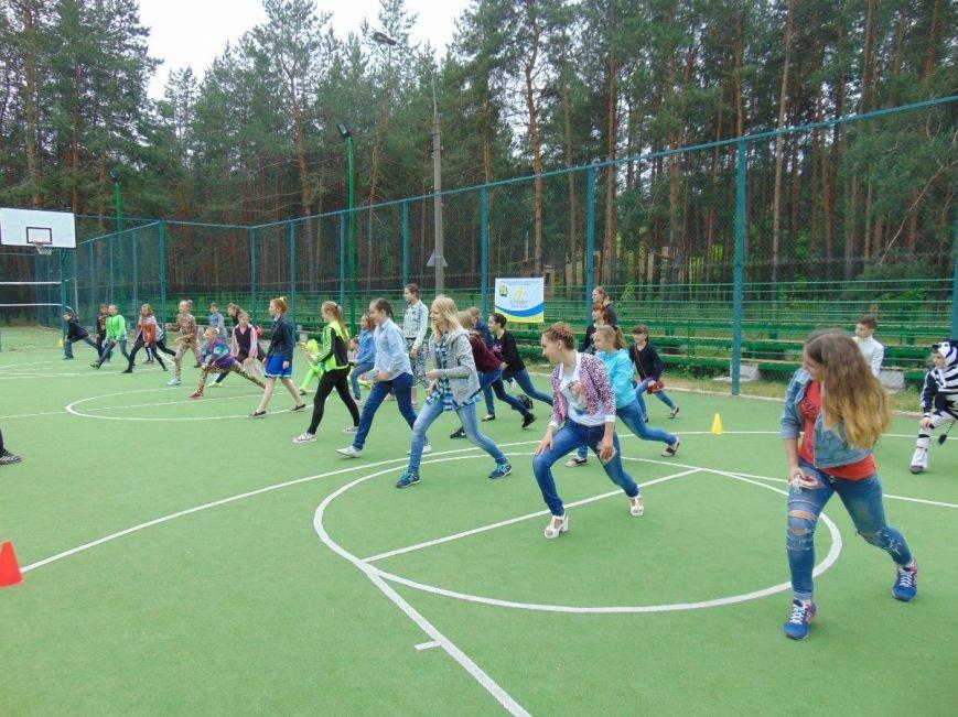 Дети из Краматорска соревновались в Святогорске, фото-1