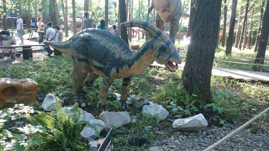 В ульяновском парке живут динозавры. ФОТО, фото-8