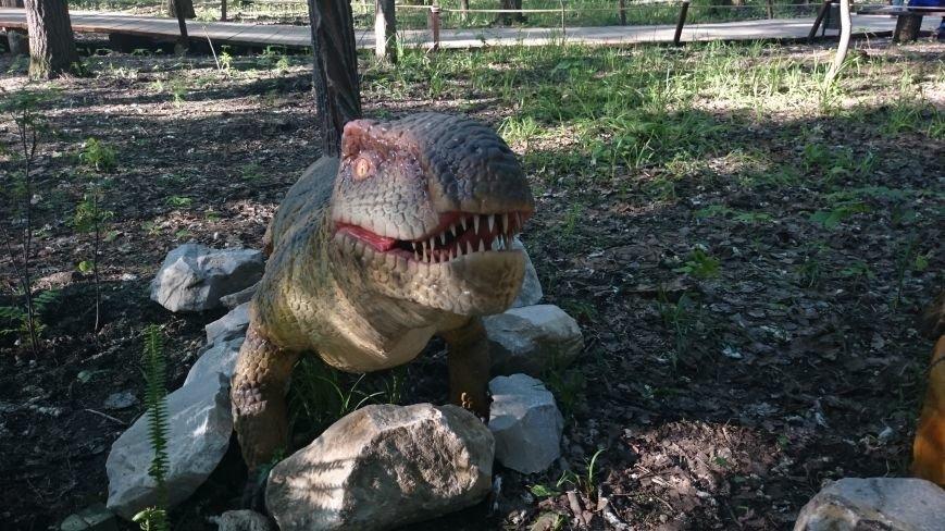 В ульяновском парке живут динозавры. ФОТО, фото-3