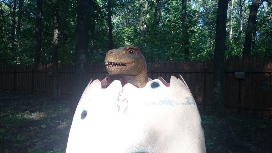 В ульяновском парке живут динозавры. ФОТО, фото-6