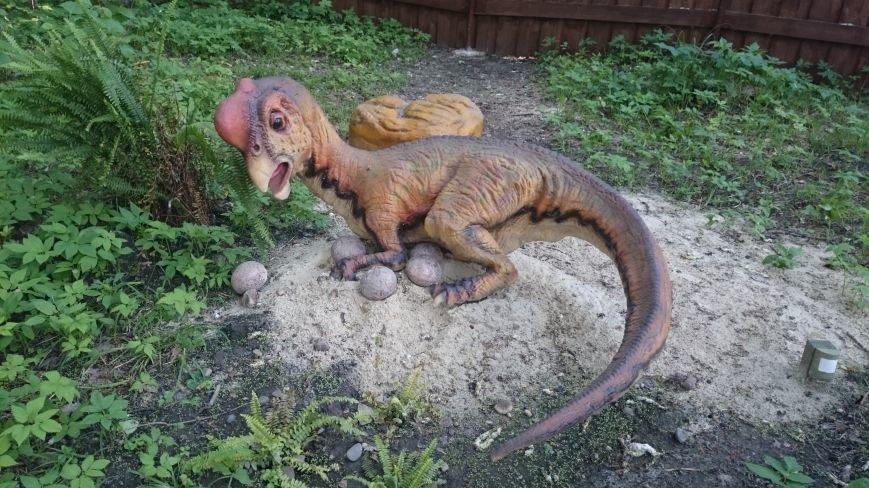 В ульяновском парке живут динозавры. ФОТО, фото-1