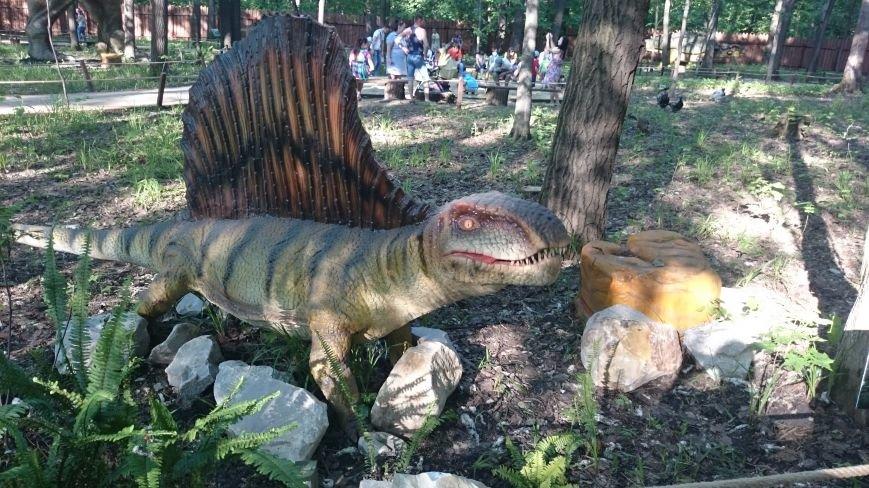 В ульяновском парке живут динозавры. ФОТО, фото-2