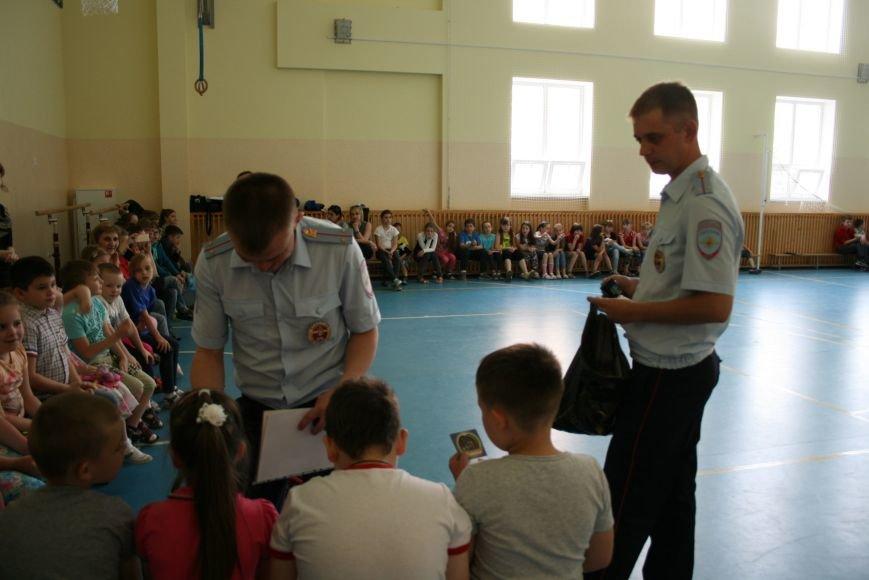 Троицкий батальон ГИБДД завершил акцию «Здравствуй, лето!» слётом школьных команд, фото-4