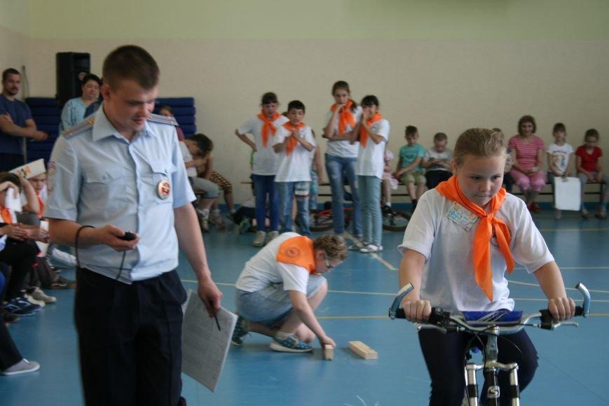 Троицкий батальон ГИБДД завершил акцию «Здравствуй, лето!» слётом школьных команд, фото-7