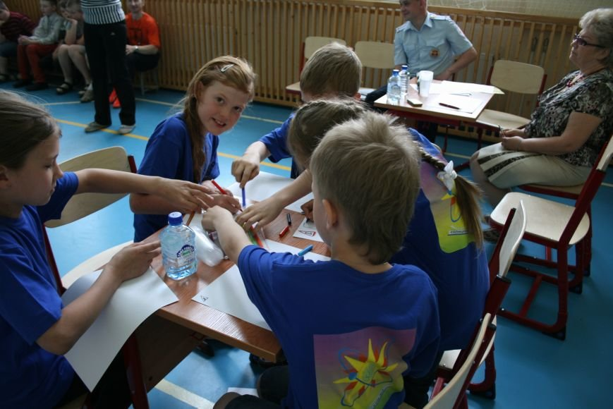 Троицкий батальон ГИБДД завершил акцию «Здравствуй, лето!» слётом школьных команд, фото-2