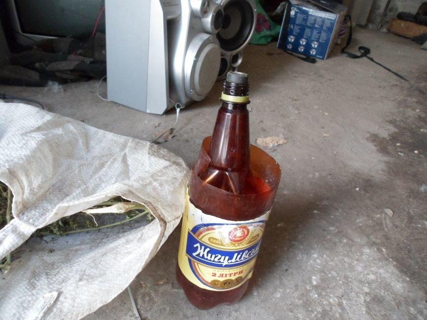 В Каменском при раскрытии краж из домовладений обнаружили плантацию конопли, фото-9