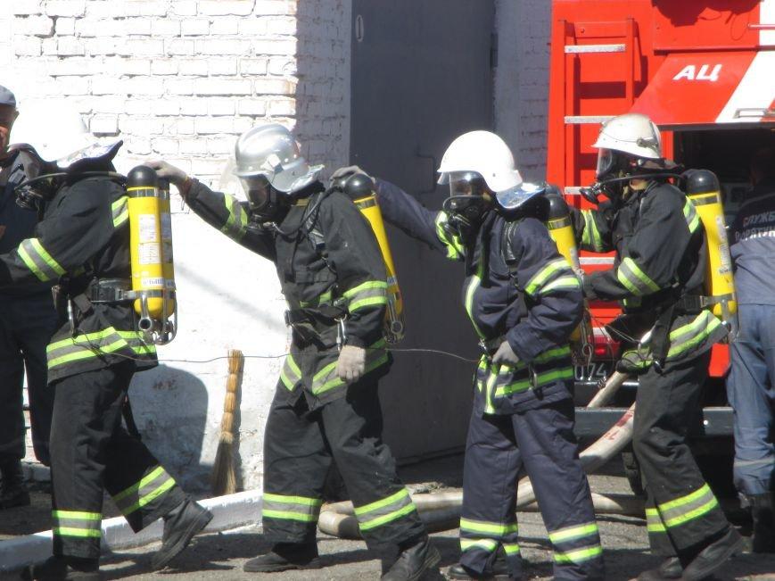 Як у Кременчуці пожежники з усієї області рятували з диму і вогню «постраждалих», фото-1