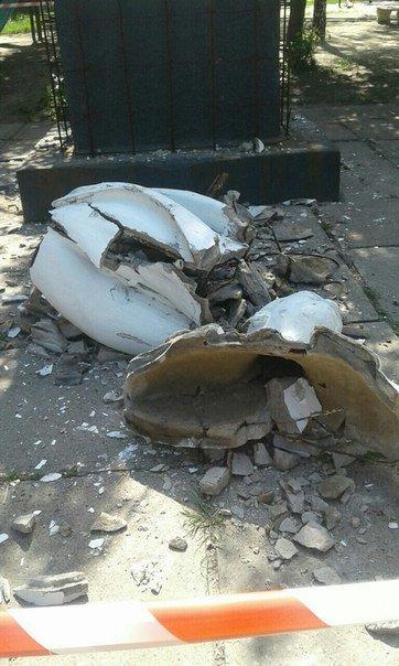 У ДНР повалили пам'ятник Леніну, фото-3