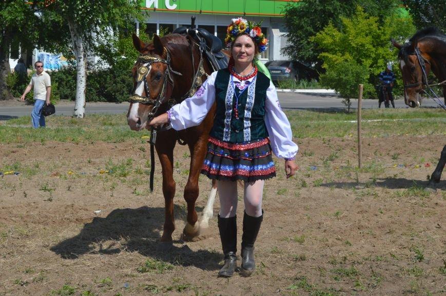 В Северодонецке выступил областной казачий конный театр (ФОТО), фото-2