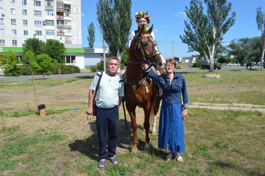 В Северодонецке выступил областной казачий конный театр (ФОТО), фото-5