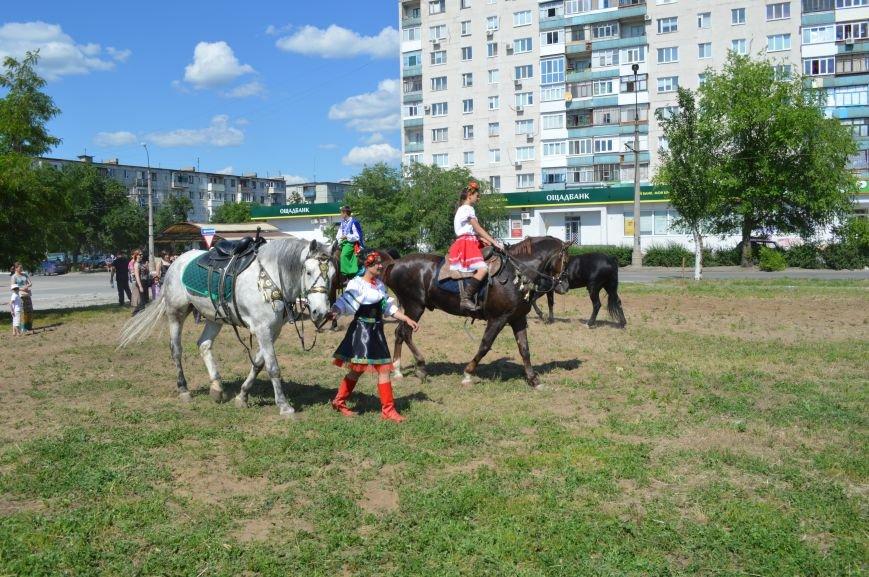 В Северодонецке выступил областной казачий конный театр (ФОТО), фото-6