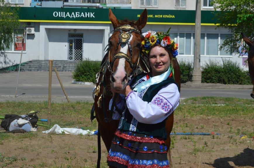 В Северодонецке выступил областной казачий конный театр (ФОТО), фото-4