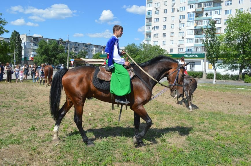 В Северодонецке выступил областной казачий конный театр (ФОТО), фото-7